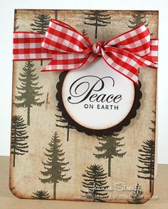 DEC12VSNH Peace by Jeanne S - Cards and Paper Crafts at Splitcoaststampers