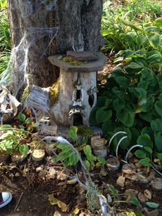 Florence Griswold Museum fairy houses 2013; Farmer1 | Flickr - Photo Sharing!