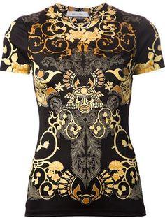 Versace Collection Samurai Print T-shirt - David Lawrence - Farfetch.com