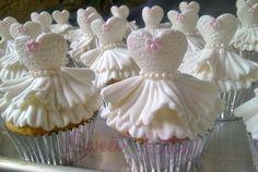 Ballerina Cupcakes ~!