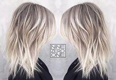Textured Ice Blonde by #901artist @msmorganashley! #icequeen #blondehair