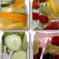 Cuatro infusiones de agua aromáticas que te permitirán mantenerte hidratada durante todo el días y te ayudan a eliminar las toxinas del cuerpo. Preprara 2 litros de agua con: 1⃣limón, naranja y lima 2⃣limón, mora y menta 3⃣pepino, limón y menta 4⃣moras rojas. Negras y limón  #detox #water #healthylifestyle #vidasaludable #hidratación #Padgram