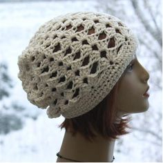 Check out this item in my Etsy shop https://www.etsy.com/listing/510128868/slouchy-hat-summer-hat-bohemian-beanie