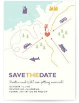 Destination Save the Date Postcards
