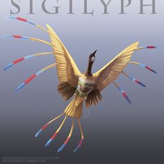 Pokemon Reimagined: Sigilyph by ShadeofShinon on DeviantArt Pokemon Images, Pokemon Pictures, Pokemon Fan Art, Pokemon Stuff, Pokemon In Real Life, Pokemon Realistic, Feather Texture, Pokemon Official, Monster Concept Art