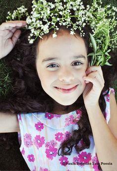 MENINA VOADORA: Alice, menina flor!