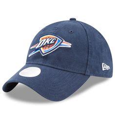 buy popular 99c5c cb225 Women s New Era Blue Oklahoma City Thunder Preferred Pick 9TWENTY Adjustable  Hat
