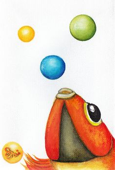 More Bubbles Painting by Oiyee At Oystudio - More Bubbles Fine Art Prints and Posters for Sale
