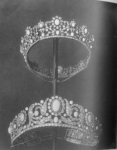 Turquoise Tiaras (French Crown Jewels)