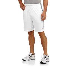 Russell Men's Polyester Interlock Short, Size: XL, White