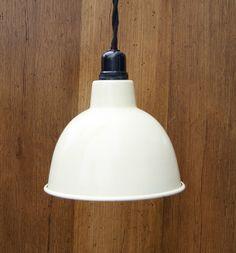 Cast Iron Hanging Pendant Lamp Light Vintage by CastIronCreations, £29.00