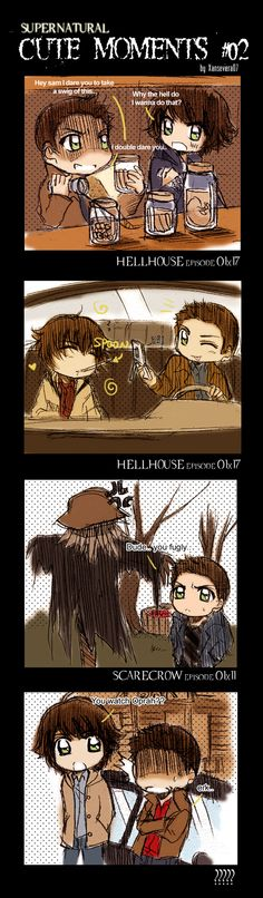 Supernatural+Cute Moments 02 by *xanseviera on deviantART