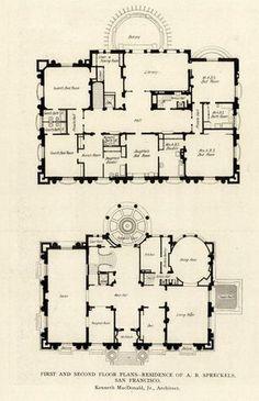 Raynham hall 2 floor plans old houses floor plans - Millennium home design fort wayne ...