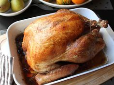 Learn how to make an Easy Roast Turkey for Beginners! - Visit http://foodwishes.blogspot.com for the ingredients, more recipe information, and over 650 addit...