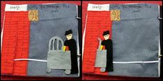 A different kind of quiet book: Harry Potter    @ Erin Spencer, you have to do this if you have kids!