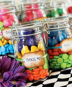 Candy jar for bday parties