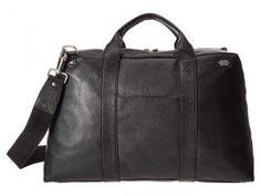 Jack Spade Wayne Duffle (Black) Duffel Bags