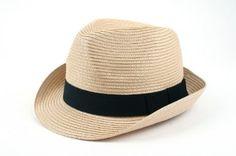 Straw Classic Fedora Hat