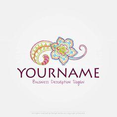 Create a Logo Template – Flower logo design