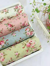 4Color Antique Mini Rose Series Korean Quilt Fabric