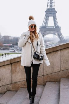 Leonie Sophie is ready for winter in every sense... - Street Style