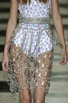 Prada Spring 2010 ignore the skinny legs and look at the awesome sparkles