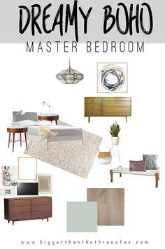 Dreamy Boho Master Bedroom