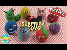 HUEVOS KINDER SORPRESA EN MASAS DE COLORES PLAY DOH Hidden Toys Surprise - YouTube