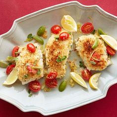 Easily make this roasted cod with mustard breadcrumbs on one pan in the oven. It takes less than 25 minutes from start to finish.