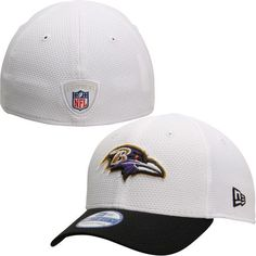 Baltimore Ravens New Era Toddler On Field Training Camp 39THIRTY Fitted Hat - White - $24.99