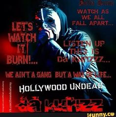 City Hollywood Undead Quotes, Falling In Reverse, Eminem, Cool Bands, Depression, Army, Fan, Music, Movie Posters