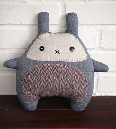 Bunny Plush by WE.LOVE.STITCHES, via Flickr