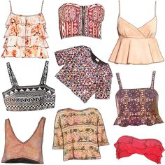Wednesday Wishes Crop Tops