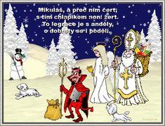 02 přání k Mikuláši Advent, Comic Books, Comics, Art, Art Background, Kunst, Cartoons, Cartoons, Performing Arts