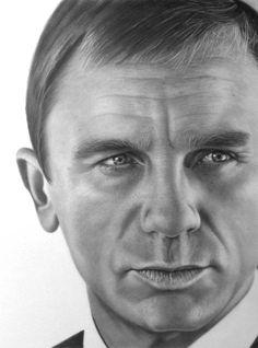 Daniel Craig by markstewart.deviantart.com on @deviantART