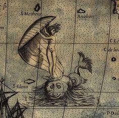 Paolo Forlani, Universale Descrittione di Tutta la Terra Conosciuta Fin Qui (World map and detail), Venice, Italy, c. 1565