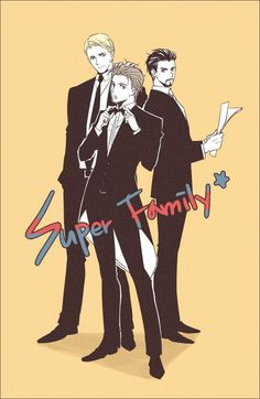 Superfamily - yes, i ship it harder than anything