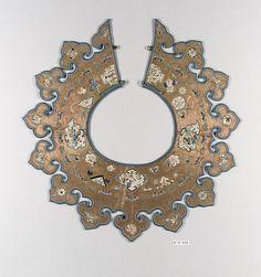 Collar antique Chinese Met Museum