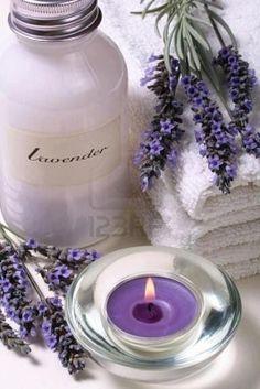 Photo about Lavender scented bath salt and lavender flowers, spa items. Lavender Cottage, Lavender Scent, Lavender Fields, Lavender Flowers, Purple Flowers, Lavender Nails, French Lavender, Lavender Blue, Lavender Oil Benefits