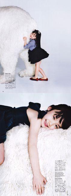 芦田愛菜 VOGUE JAPAN ANGELS 2012.5月号