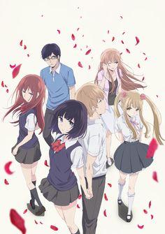 La serie live-action y el Anime para televisión de Kuzu no Honkai intercambian reparto entre si.