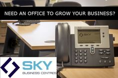 NEED AN OFFICE TO GROW YOUR BUSINESS? Sky Business Centres Facilities: -	High speed internet connection  -	Free car parking -	Reception service -	Air conditioned meeting room -	Coffee and filter water -	Fully serviced -	Telephone answering and business support -	Free move in service  -	Free service charge & management fees  -	Choice of three locations 3,15 & 17  -	Service guaranteed or your money back  -	Storage facilities available Free Move, Storage Facilities, Office Meeting, Speed Internet, Free Cars, Business Centre, Office Phone, Growing Your Business, Car Parking