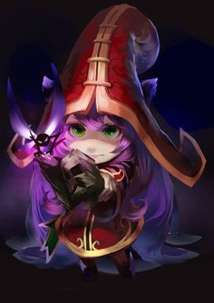Lulu art again. I love the light on this one, it's so mysterious.
