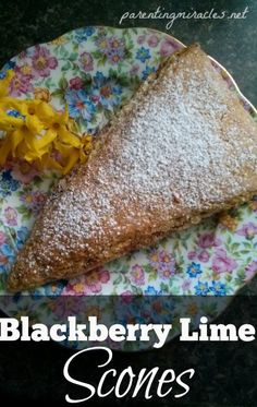 Blackberry Lime Scones-- Scones sound very fancy and impressive. In ...