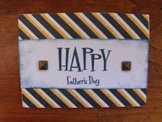 #FathersDay #Card #CTMH Tommy paper pack Products can be found on my website: www.LaurenKelly.ctmh.com