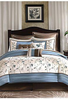 JLA Home Ashley Blue 6-piece Comforter Set #home #belk
