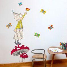 Ce sticker Jules de la marque Série-Golo apporte un décor ludique et coloré à la…