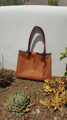 Wildstar handmade embossed Leather Tote Bag £59.99  Summer 2017