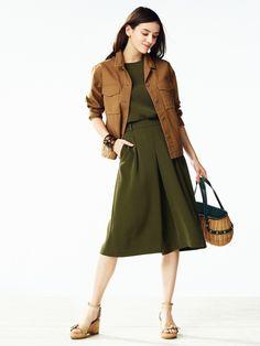 【ユニクロのコーディネート特集】ユニクロのコーデ特集ページ。新作情報も盛りだくさん。モデル達のコーディネートは意外な組み合わせの発見も!毎日の着こなしに是非、お役立てください! Fashion Books, Uniqlo, Kids Outfits, Duster Coat, Skirts, Jackets, Shopping, Clothes, Fall