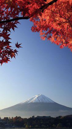 Mount Fuji in Autumn, Japan